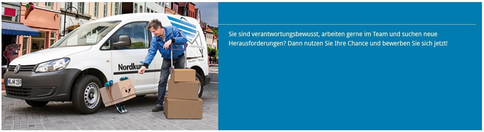 Stellenangebote - Nordkurier Logistik Brief + Paket als Arbeitgeber