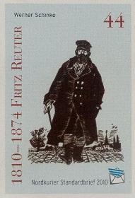 200. Geburtstag Fritz Reuter