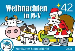 Weihnachtsbriefmarke M-V